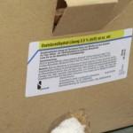 Oxalsäure zur Varroabekämpfung